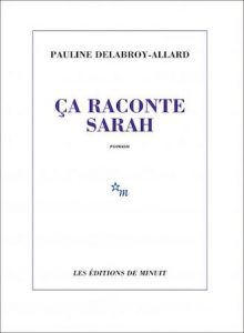 Book Cover: Ça raconte Sarah
