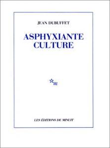 Couverture d'ouvrage: Asphyxiante culture