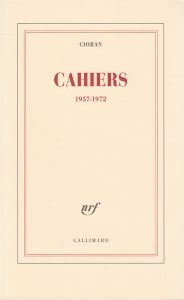 Book Cover: Cahiers (1957 - 1972)