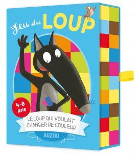 Book Cover: Cartes à jouer Auzou - jeu du Loup qui voulait changer de couleur