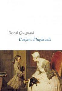 Book Cover: L'enfant d'Ingolstadt