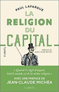 Couverture d'ouvrage: La religion du capital