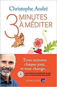 Book Cover: Trois Minutes à méditer
