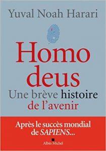 Couverture d'ouvrage: Homo Deus, Une brève histoire de l'avenir
