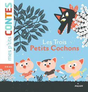 Book Cover: Les trois petits cochons - Agnès Cathala