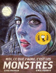 Book Cover: Moi, ce que j'aime, c'est les monstres