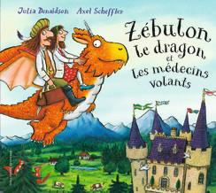 Book Cover: Zébulon le dragon et les médecins volants